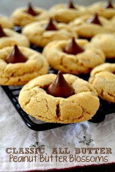 Classic, All Butter Peanut Butter Blossoms   The Domestic Rebel   Bloglovin'