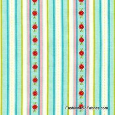 Sweet Divinity Sweet Stripe in blue by Riley Blake Designs