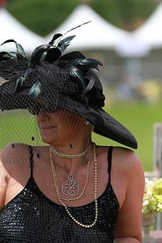 Hunting hat pin: radnor hunt races hats and horses prove equally dazzling pin it