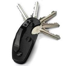 Key Holder Aluminum Alloy Keychain Flexible Key Holder Clip Aluminum C – bestkeyrings Chewing Gum, Key Bag, Key Organizer, Smart Key, Edc Gear, Bag Organization, Cool Tools, Aluminium Alloy, Household Items
