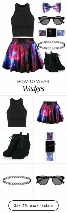 Best galaxy outfit ever! Komplette Outfits, Outfits For Teens, Casual Outfits, Summer Outfits, Fashion Outfits, Fashion Trends, Cute Emo Outfits, Pastel Goth Outfits, Fashionable Outfits