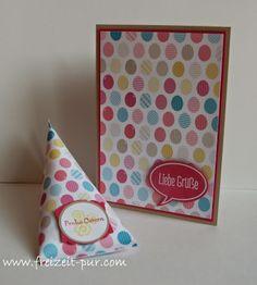 Stampin'Up! Betsy's Blossoms, Ganz schön aufgeblasen, Kleine Wünsche, Ostern, Stampin'Up Designerpapier, Verpackung