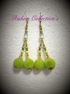 Latkan tassel Indian fashion women wear