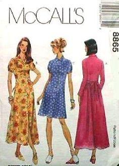 McCall's Sewing Pattern 8865 Misses Dresses, C (10-12-14)... http://www.amazon.com/dp/B004ZM7AP2/ref=cm_sw_r_pi_dp_TXFsxb1S1NBTG