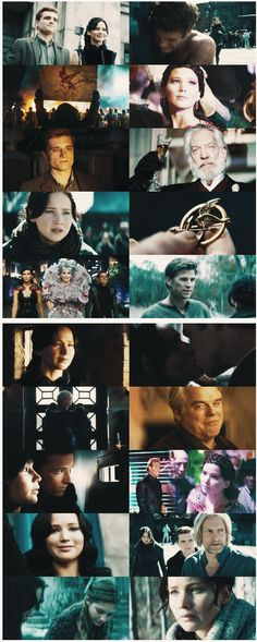The Hunger Games  ...  Catching Fire.. favorite moments