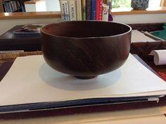 Bob Stocksdale Wood Bowl Rosewood From Madagascar Original