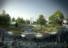 Pier 55: Heatherwick's Revitalisation of the Hudson River Park | Archute
