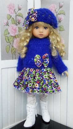 MOHAIR SWEATER,CORDUROY&BOOTS SET