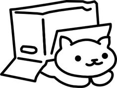 image result for how to draw neko atsume