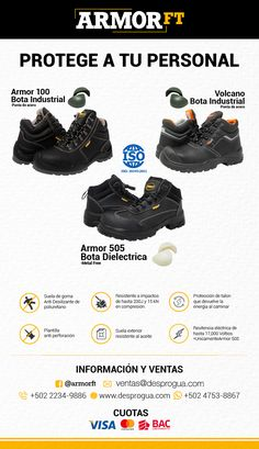 026a4d9b641 7 mejores imágenes de Calzado de seguridad industrial