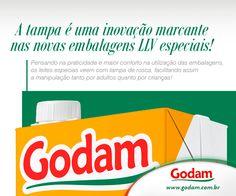 Especial é com tampa! Acesse nosso site: www.godam.com.br