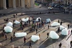 Ice Watch by Olafur Eliasson and Minik Rosing, Place du Panthéon, Paris, 2015 Ice Watch, Studio Olafur Eliasson, Icelandic Artists, Creators Project, Urban Fabric, Artistic Installation, Wow Art, Branding, London Art