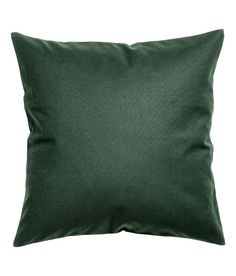 Check this out! Cushion cover in cotton canvas with concealed zip. Size 20 x 20 in. - Visit hm.com to see more.