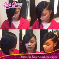 New!side bang lace front wig short bob wigs for black women human hair side parts bob wig with bangs baby hair around