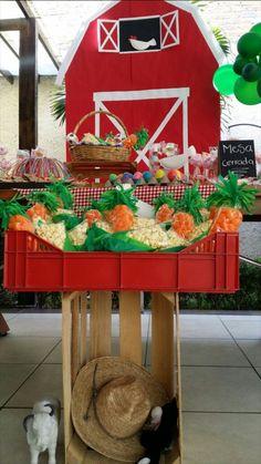 Birthday Candy, Farm Birthday, Birthday Parties, Farm Theme, No Bake Cake, Gingerbread, Party, Crafts, Cowboys