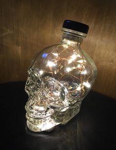 Crystal Head Vodka Fairy Light Lamp