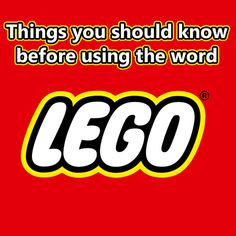 With so many LEGO® brick creators, LEGO® related software packages, LEGO® movies, LEGO® content creators and more, the word 'LEGO®' gets used almost daily by thousands of people. Lego Website, Lego Books, Used Legos, Lego Truck, Lego Mindstorms, Creative Web Design, Brick Design, Library Programs, Lego Models