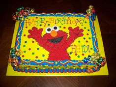 Happy 1st Birthday Baby Elmo