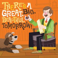 """There's A Great Big Beautiful Tomorrow!"" Carousel of Progress.  Magic Kingdom Park  #WaltDisneyWorld"