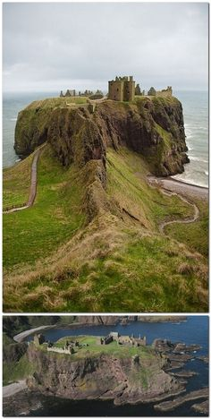 Out of all of our Scottish adventures, this was by far the most surprisingly amazing! Dunnottar Castle, Scotland Looks like LotR's Weathertop Scotland Castles, Scottish Castles, Places To Travel, Places To See, Places Around The World, Around The Worlds, Photo Chateau, England And Scotland, Aberdeen Scotland
