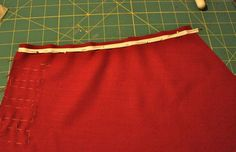 Gertie's New Blog for Better Sewing: Stabilizing a V-Neck with Twill Tape