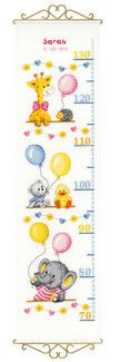 Baby Shower Cross Stitch Complete Kit by Vervaco Cross Stitching, Cross Stitch Embroidery, Cross Stitch Patterns, Cross Stitch For Kids, Cross Stitch Baby, Height Chart, Cross Stitch Supplies, Halloween Books, Paintbox Yarn