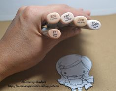 Skin Coloring Tutorial for The Greeting Farm! - Rosemarys Creations
