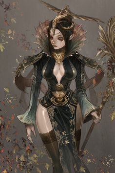 Wizards Female Fantasy | Magician Picture (2d, fantasy, wizard, girl, female, woman)