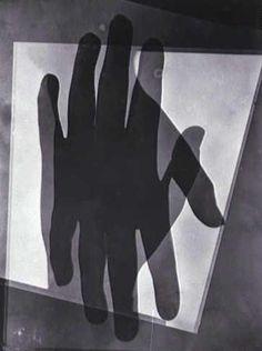 hand rayogram: resonant exposure.