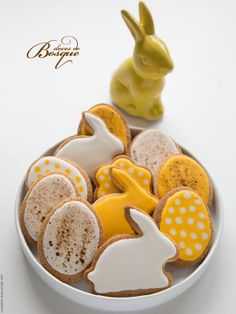 Bolachas Páscoa • Easter Cookies | Doces do Bosque
