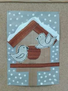Resultat d'imatges de winter themed art for adults Winter Art Projects, Winter Crafts For Kids, Winter Kids, Art For Kids, Kindergarten Art, Preschool Crafts, Arts And Crafts, Paper Crafts, Art Classroom
