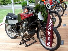 Best of Show: And the winner is... Gilera 500 Rondine, 1939
