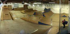 Skate Spot: K-Zoo Skate Zoo Skatepark | iskatehere.com Skateboard Ramps, Skate Park, Bmx, Layout, House Design, Urban, Interior, Skateboarding, Google Search