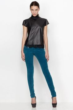 Lover CORD ONO PANT, TEAL OR RUBY  http://shop.goodasgold.co.nz/