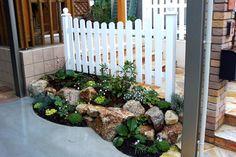 ロックガーデン ガーデニング Dry Garden, Outdoor Structures, House Design, Green, Plants, Outdoor Spaces, Do Your Thing, Outdoor Living Spaces, Plant