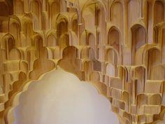 This page shows the Muqarnas-Pavillon of Joachim Tantau, Ebenist and Designer. Islamic Architecture, Architecture Design, Sacred Art, Islamic Art, Pavilion, Wood Art, Moroccan, Ficus, Image
