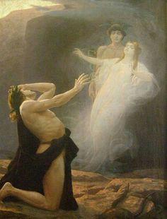 Eduard Kasparides, Orphée et Eurydice, 1896
