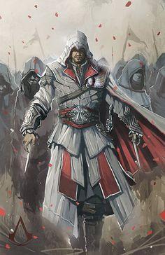 Assassins Creed Brotherhood by ~longai on deviantART
