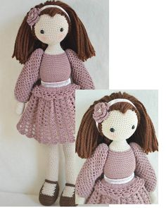 Crochet doll ♥ by chepidolls on Etsy