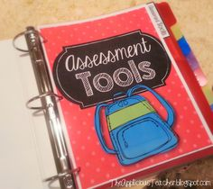 DIY: Student Data Binder!  A great tool kit to help YOU organize your student's data!