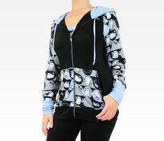 ASICS x Hello Kitty Hooded Jacket: Blue....gotta have it!