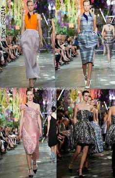 I want pretty: Paris Fashion Week Primavera-Verano 2014- Dior.