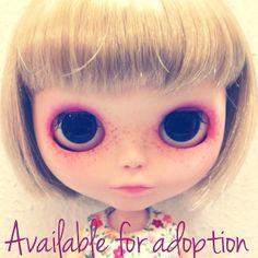 Blythe custom 'Esmé'  ... Available for adoption!