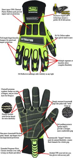 TheFireStore - Ringers: Hybrid Extrication Glove - Size Medium