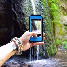 Nikki McInnes, our #LifeProof Photo of the Week winner with her photo taken at Stephens Falls, #Wisconsin!