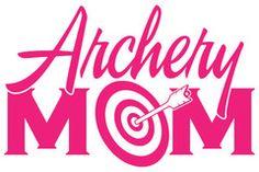 Archery Mom Sticker - Pink