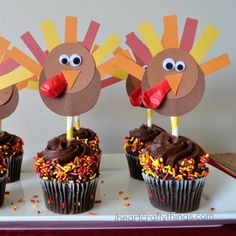 Sometimes during the holidays there are those spontaneous family and friend get-togethers. Besides the rush of trying to get my house tidy, I always love to add a little fun to the dessert table when I'm hosting people at my house. These darling DIY Thanksgiving turkey cupcake toppers are perfect for a Thanksgiving party, a casual …