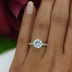 3.25 ctw Wide Art Deco Ring