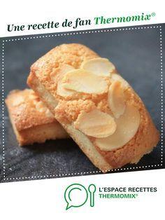 Financiers aux amandes par oupslala25. Une recette de fan à retrouver dans la catégorie Pâtisseries sucrées sur www.espace-recettes.fr, de Thermomix®.