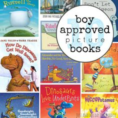 Fun with the Kids Fridays: 10 Boy Approved Picture Books